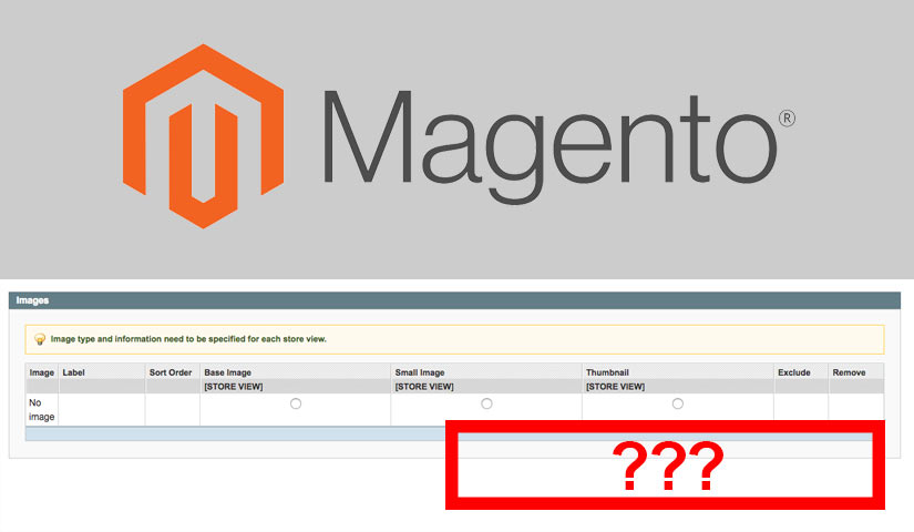 Magento Image Upload Button Missing