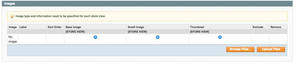 magento image upload button fixed